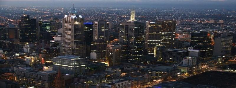 Melbourne city, Australie