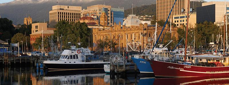 Australie : Ville Hobart en Tasmanie